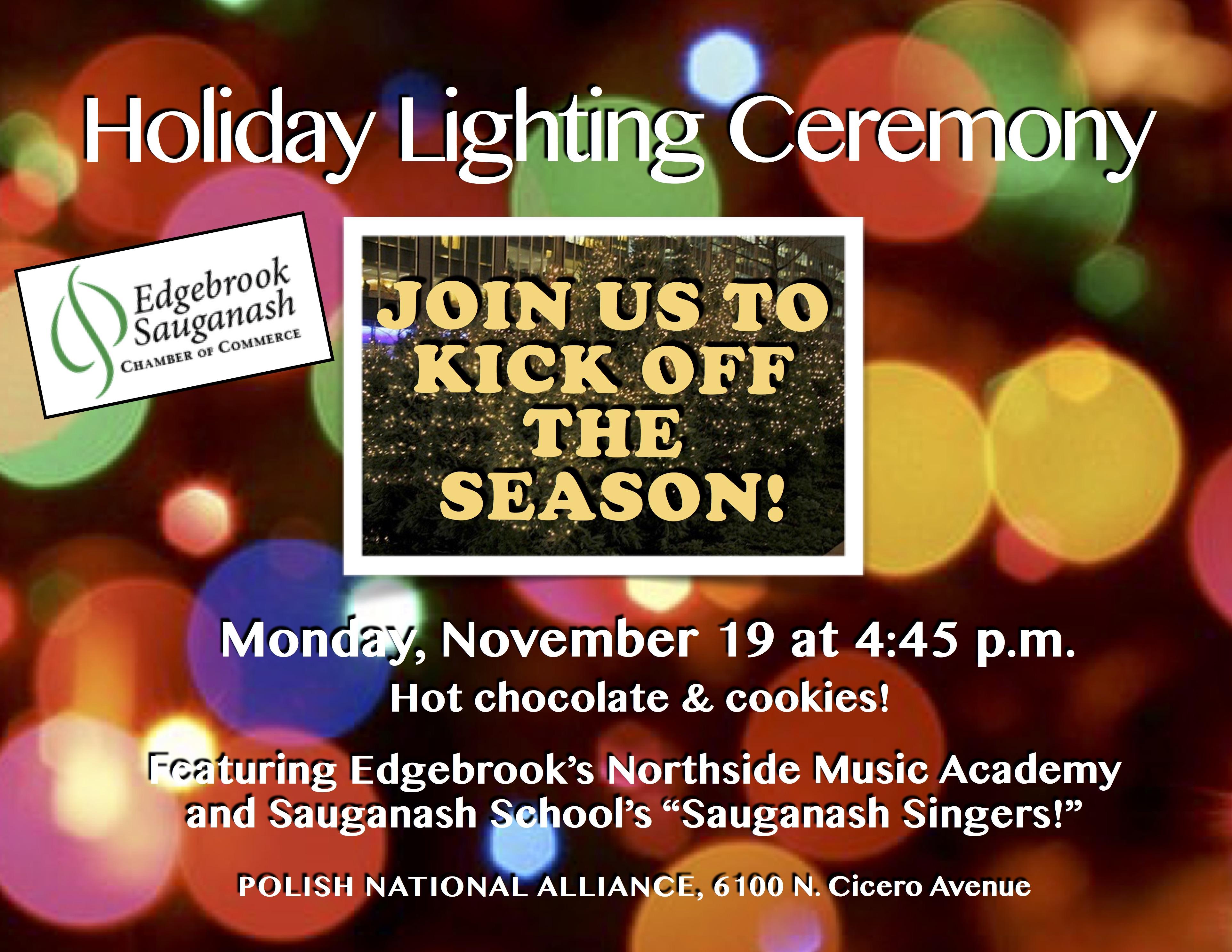 Sauganash Christmas Light 2020 2018 Sauganash Holiday Lighting Ceremony Landscape | ESCC60646.com